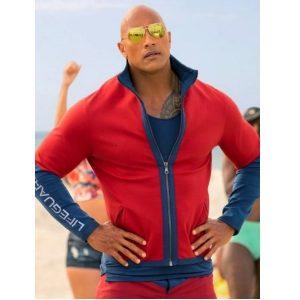Dwayne Johnson Baywatch Lifeguard Jacket
