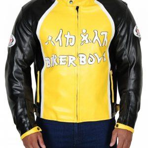 Derek Luke Biker Boyz Yellow Motorcycle Leather Jacket