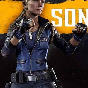 Mortal Kombat 11 Sonya Blade Leather Jacket