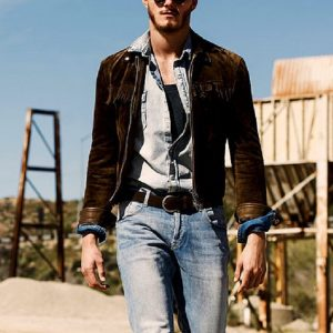Alexander Ludwig Fringes Western Suede Leather Jacket