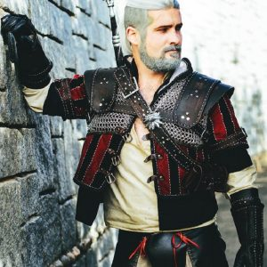 The Witcher 3 Superior Wolven Gear Cosplay Jacket