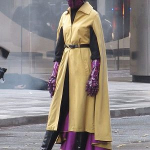 Jupiter's Legacy Iron Orchid Sharon Belle Cosplay Coat