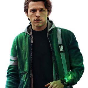 Tom Holland Wearing Ben Ten Jacket