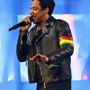 American rapper Jay-Z Leather Jacket