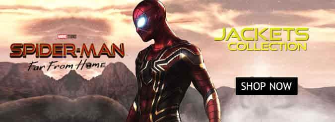 SpiderMan Costume jackets Banner