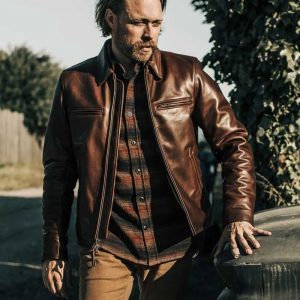 Dean Drown Leather Jacket