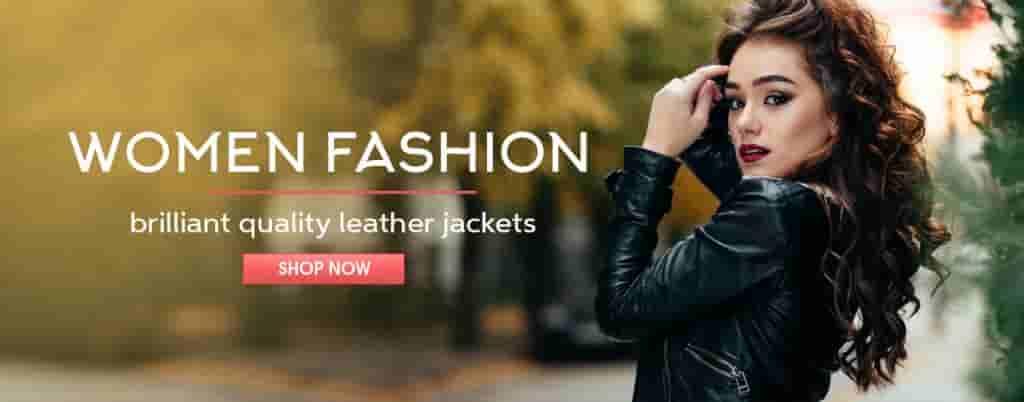Women Fashion Jackets-Banner