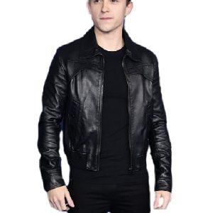 Tom Holland Movie Onward Black Jacket