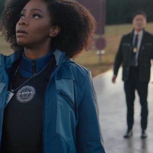 Blue Jacket Monica Rambeau