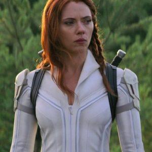 Film Black Widow Scarlett Johansson Costume Jacket