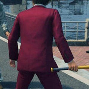 Video Game Series Yakuza Like a Dragon Kasuga Ichiban Suit