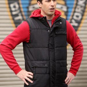 Andy Samberg Wearing Black Vest In Brooklyn Nine-Nine