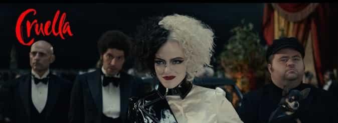 Comedy Crime Film Cruella Banner filmstarjacket