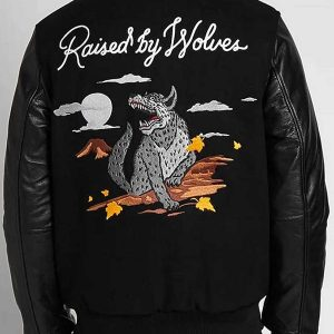 Raised By Wolves Souvenir Redux Varsity Jacket