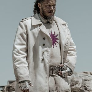 Travis Fimmel Wearing White Coat In Raised by Wolves