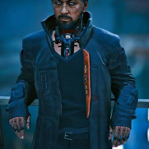 Video Game Cyberpunk 2077 Goro Takemura Costume Coat