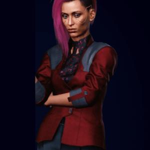 Judy Cyberpunk 2077 Blazer