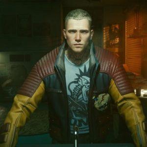 Video Game Cyberpunk 2077 Asian Male V Biker Jacket